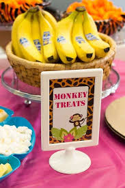 monkey themed birthday party supplies best 25 monkey party foods