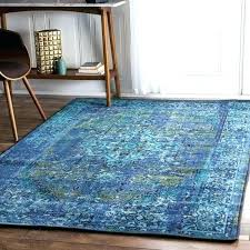 vintage inspired rug traditional fancy blue runner nuloom overdyed turquoise rugs rugs fantastic rug blue nuloom overdyed turquoise