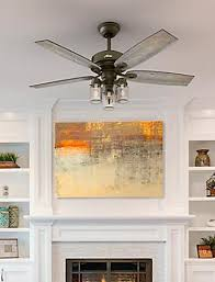 Lighting for homes Industrial Style Ceiling Fans Lightingmiami Lighting The Home Depot