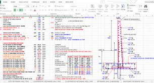 Small Picture RCC Retaining Wall Design Excel Construction Of RCC Retaining Wall