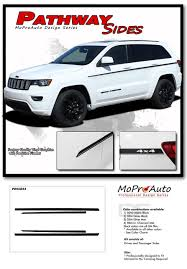 2019 Jeep Grand Cherokee Color Chart Details About 2011 2019 Jeep Grand Cherokee Door Stripes Pathway Sides Decal 3m Vinyl Graphics