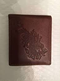 mens quality leather wallet dragon design 2 fast free from usa for item 1066916