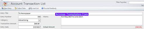 Business Ledger Templates Access Templates For Small Business Accounting Ledger Tutorial