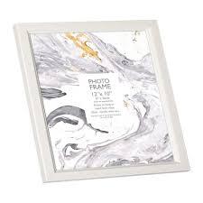 12 x 10 inch white photo frame