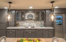 Basement Kitchens Shabby Chic Basement Remodel West Chester Pa Maclaren