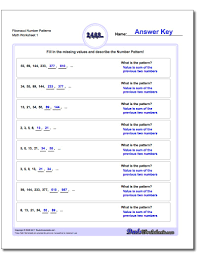 likewise Sequences and Patterns in Math   Online Worksheets besides Sequences Worksheets Year 3 Worksheets for all   Download and likewise Number Sequence Worksheet 20   math Worksheets   grade 1 as well Sequences Numbers Worksheets Worksheets for all   Download and furthermore Fraction Math Worksheets   Math Printables   Pinterest   Math furthermore  moreover  further  moreover Number Sequence Worksheet 7   math Worksheets   kindergarten besides Free Kindergarten Worksheets Spot the Patterns. on mathematical sequences worksheets