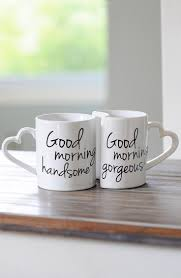 'Good Morning' Ceramic Coffee Mugs