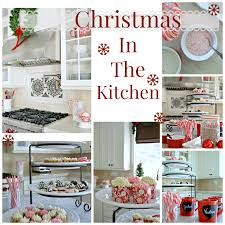Kitchen Christmas Christmas Decorating In The Kitchen