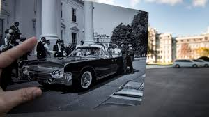 recreating photos from the day of john f kennedy s assassination