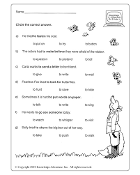 Verbs Worksheets For Grade 1 And 2: Best images of action verb ...