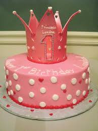 Princess Birthday For A 1 Yr Old Girl Cakecentralcom