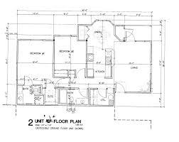 Simple House Blueprints With Measurements Floor Plan Plans Kevrandoz