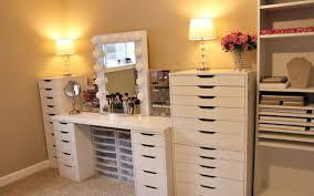 view larger makeup room tour