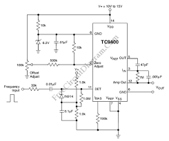 tc frequency to voltage converter circuit wiring diagrams tc9400 frequency to voltage converter