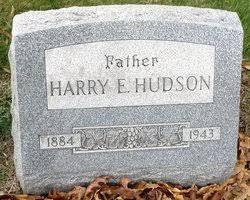 Harry Earl Hudson (1884-1943) - Find A Grave Memorial