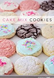 cake mix cookies are soft and chewy and super delicious plus they only require