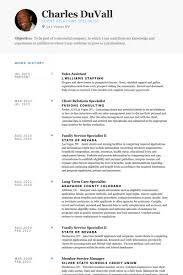 Retail Assistant Resume Template Resume Template Retail 25 Modern
