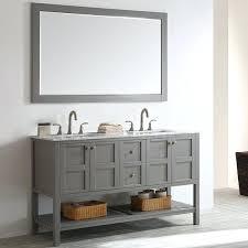 58 double sink vanity home double bathroom vanity set with mirror reviews 58 inch bathroom double