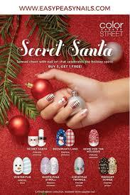 Secret Santa with Color Street Nail Strips - Direct Sales Member ...