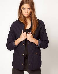 Barbour | Barbour Ladies Eskedale Quilted Jacket In Navy &  Adamdwight.com