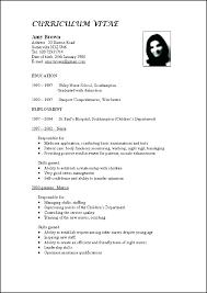 10 Curriculum Vitae Samples 1mundoreal
