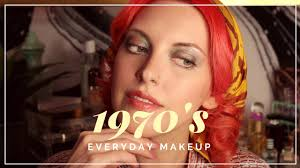everyday makeup the 1970s