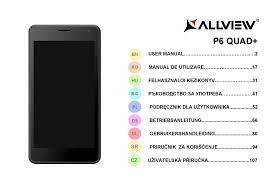 ALLVIEW P6 QUAD PLUS USER MANUAL Pdf ...