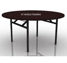round folding table banque table malaysia kalng velley kuala lumpur shah alam klang valley
