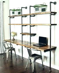 bookshelf with desk built in shelves and unit wall units above built in desk ideas fantastic shelving