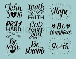 God Loves You Quotes New Set Of 48 Hand Lettering Christian Quotes God Loves You John48 48