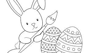 Free Printable Easter Bunnies Coloring Pages Jessica Rabbit Roger