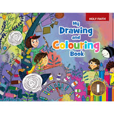 rejoice grow my drawing and colouring book 1