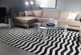 black and white round chevron rug designs for zigzag decorations 17
