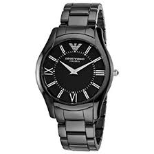emporio armani mens superslim ceramic watch ar1440 amazon co uk emporio armani mens superslim ceramic watch ar1440