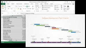 Office Timeline Using Excel For Project Management Free Templates ...