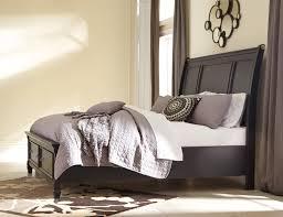 Ashley Greensburg B671 King Size Sleigh Bedroom Set 3pcs in Black ...