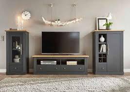 Für viele das wichtigste möbel im wohnzimmer: Wohnwand In Grau Online Kaufen Otto
