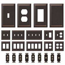 electrical cover plates. Beautiful Cover Oil Rubbed Bronze Wall Switch Plate Outlet Cover Toggle Rocker GFI Duplex  Inside Electrical Plates C