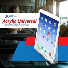 Acrylic Magazine Holder For Treadmill New Amazon AdirSports Acrylic Universal Treadmill Bookholder