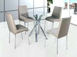 round dining room sets for 4 glass top dining table set 4 chairs brilliant glass dining