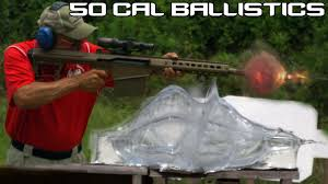 Makes sense.wound a soldier and you can make the enemy expend additional resources trying to save him. Barrett 50 Cal Vs Ballistics Gel 50 Bmg Ballistics Testing In Super Slowmo 4k Youtube