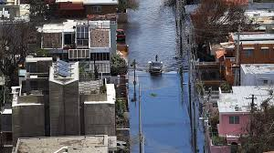 Image result for Storm-Hit Island, Puerto Rico, hurricane maria
