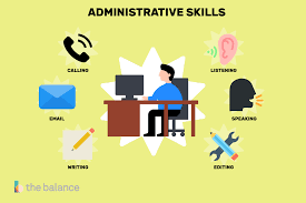 important skills for administrative jobs