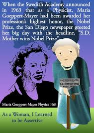 ganga library inc the newspaper did not view nobel prize winner maria goeppert er as a physicst just because she was a w as of 2015 there are only two women physics