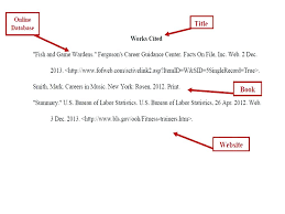 website works cited example how to do a works cited page in mla format for websites
