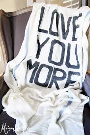 I Love You Throw Blanket