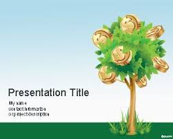 Tree Powerpoint Template Money Tree Powerpoint Template
