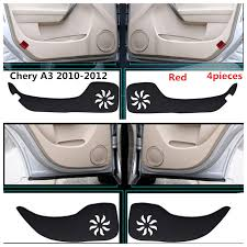 2018 hot selling taijs car door pad for chery creative style for chery a3 fengyun2 kick resistant in car anti dirty pad from automobiles motorcycles on