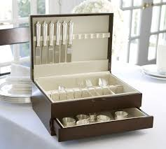 flatware storage box. Beautiful Flatware Flatware Storage Box With