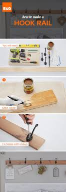 Why not make your own hook rail using some wood and decorative hooks? Paint  it or stain it and use different hooks for ...